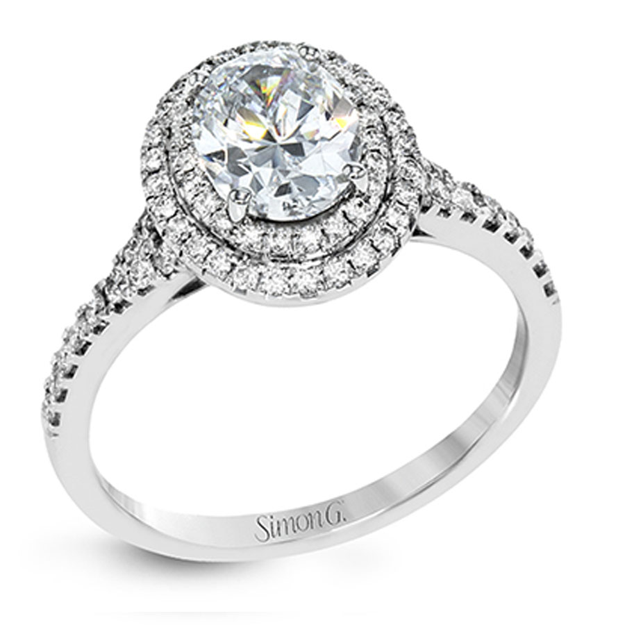 Simon G Passion Collection Diamond Engagement Ring Setting