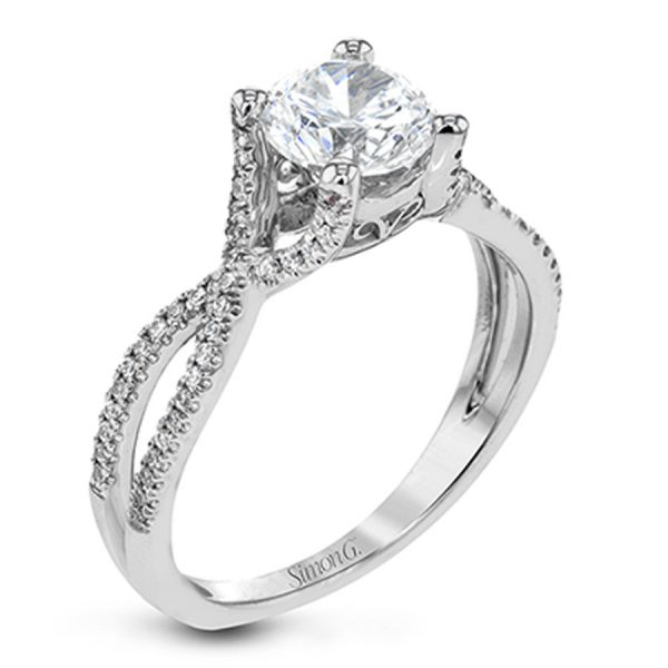 6ccf7b4c106bc Simon G Delicate Collection Diamond Engagement Ring Setting
