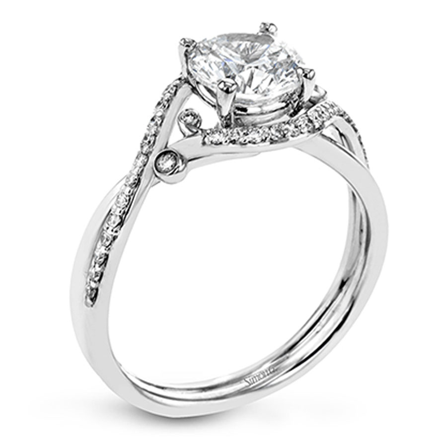 Simon G Delicate Collection Diamond Engagement Ring Setting
