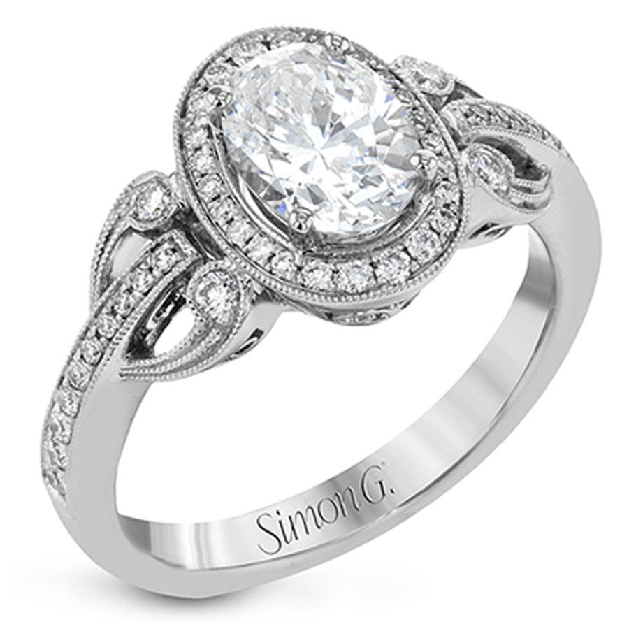 Simon G Duchess Collection Diamond Engagement Ring Setting