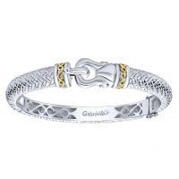 Gabriel & Co. Stackable Collection Two Tone Bangle