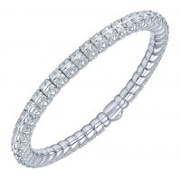 Gabriel & Co. Souviens Collection Stainless Steel Bangle