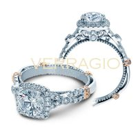 Verragio PARISIAN-DL109CU 0.60ctw Diamond Engagement Ring
