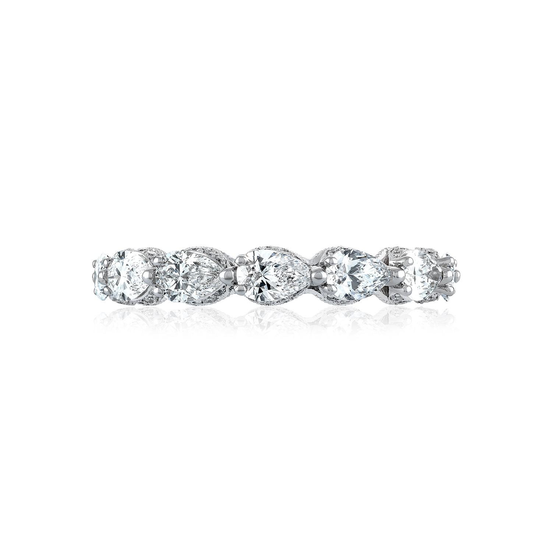 tacori wedding bands royalt 2 22ctw pear shape diamond ring