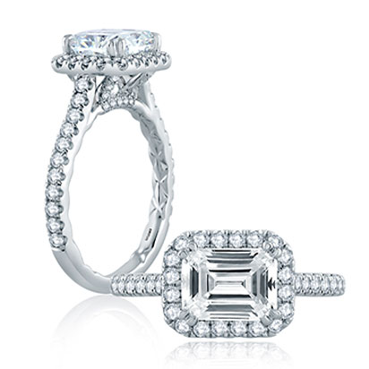 A. Jaffe engagement rings
