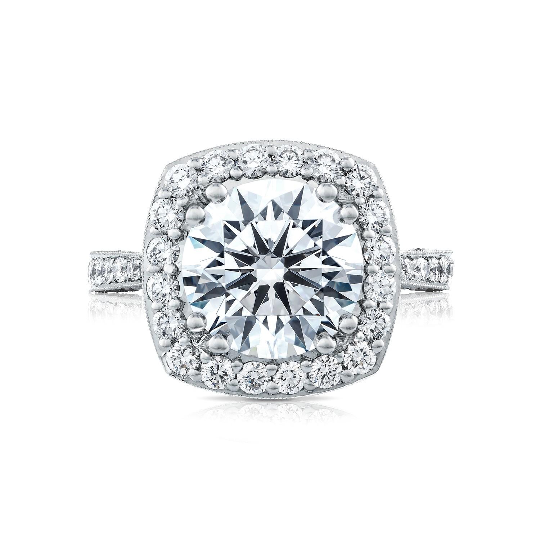 tacori engagement rings bloom 1 01ctw setting
