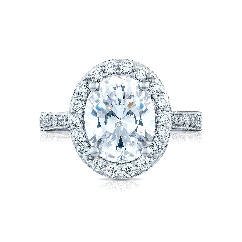 Tacori Engagement Rings RoyalT 96ctw Bloom Diamond Setting