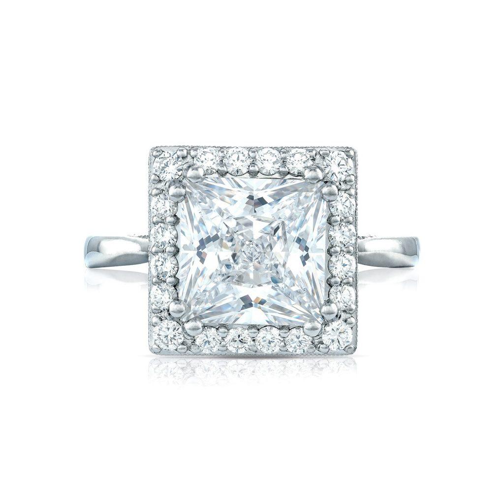 tacori royalt engagement rings princess cut 49ctw
