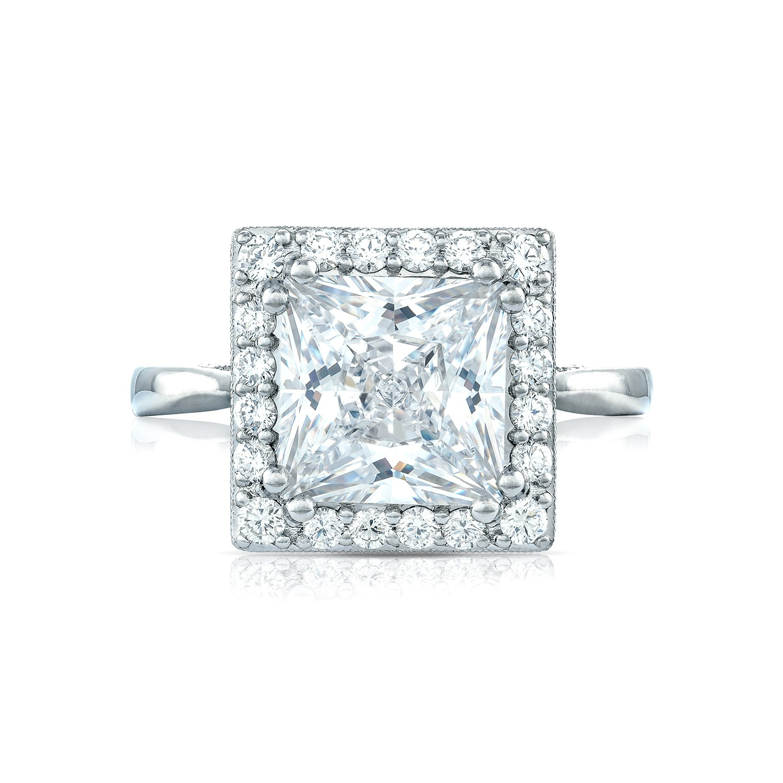 tacori royalt engagement rings princess cut 49ctw diamond