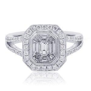 Diamond Illusion Ring