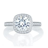 A. Jaffe ME1896Q/225 Quilted 0.75ctw Diamond Engagement Ring Setting (Reserved)