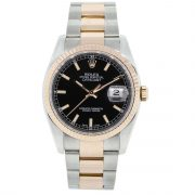 Rolex 116231 Datejust Two Tone Rose Gold Watch