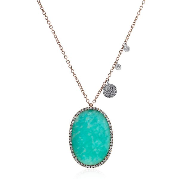 Meira T Gemstone Necklace