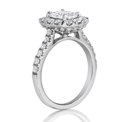 Henri Daussi Engagement Rings