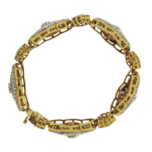 14ctw Diamond Bracelet