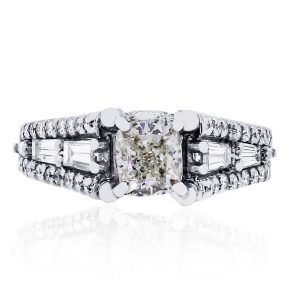 A. Jaffe diamond engagement ring