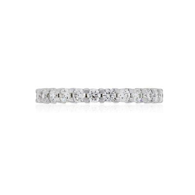14k White Gold 0.25ctw Diamond Wedding Band