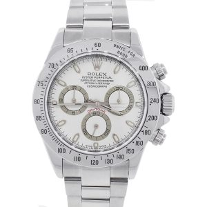 Rolex 116520 Daytona Stainless Steel Mens Watch