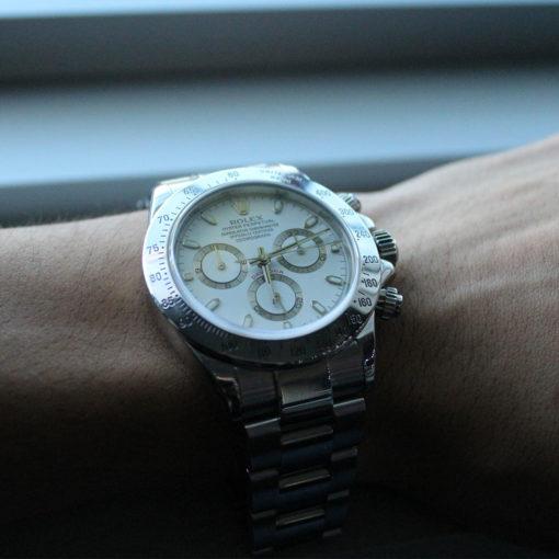 Rolex 116520 Daytona Stainless Steel Mens Watch