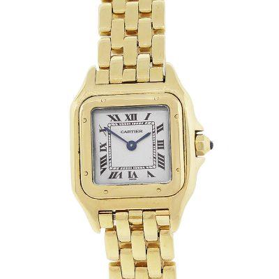 Cartier W25022B9 Panthere 18k Yellow Gold Ladies Watch