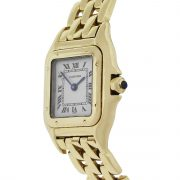 Cartier W25022B9 Panthere 18k Yellow Gold Ladies Watch
