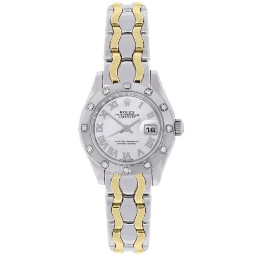 Rolex two tone watch