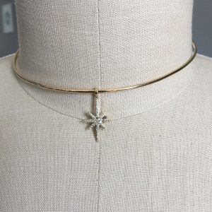 star wire necklace