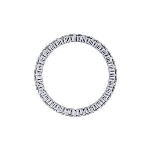 doube row eternity band