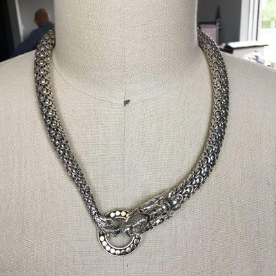 Naga Dragon Choker Necklace