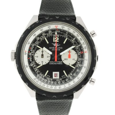 Breitling 1806 Navitimer Chrono-matic Stainless Steel on Leather Vintage Watch