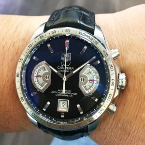 Tag Heuer chronograph watch