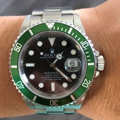 Rolex 50th anniversary watch