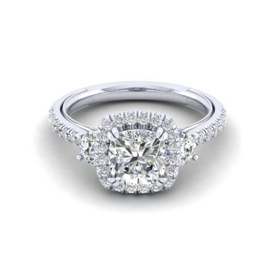 Gabriel & Co. ER12785W44JJ 14k White Gold 0.82ctw Diamond Ring