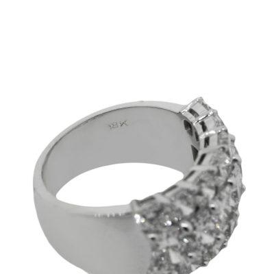 wide diamond band