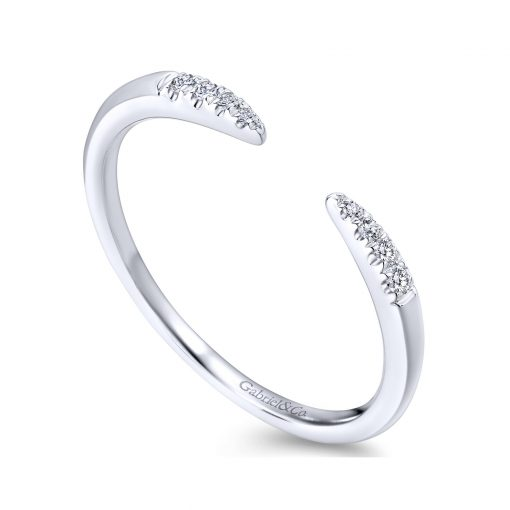 stackable diamond band