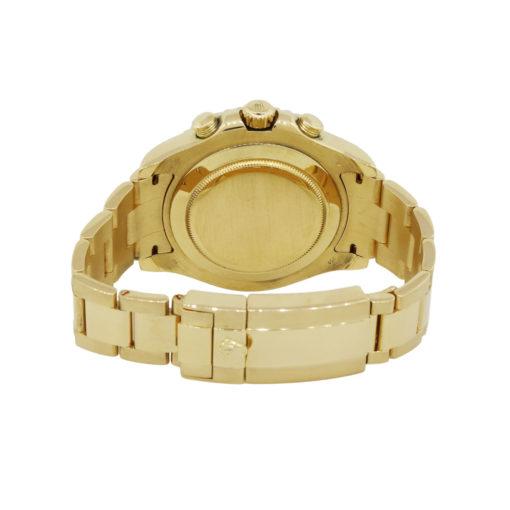 yellow gold rolex watch