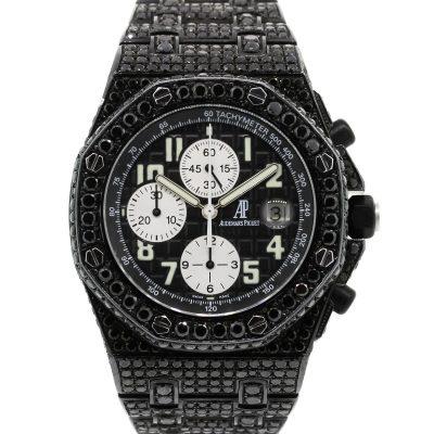 Audemars Piguet Royal Oak Offshore Black Diamond Watch