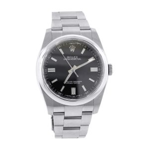 Rolex 116000 Oyster Perpetual Stainless Steel Black Dial Watch