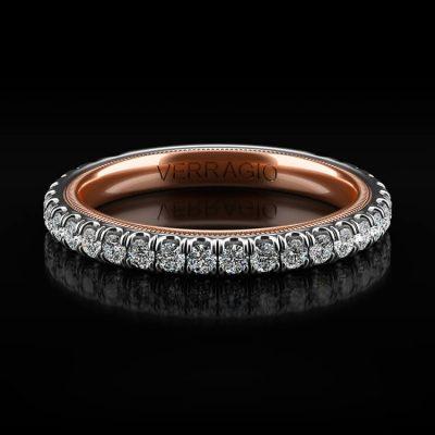 Verragio TR180W Tradition 14k Two Tone 0.61ctw Diamond Ladies Wedding Band