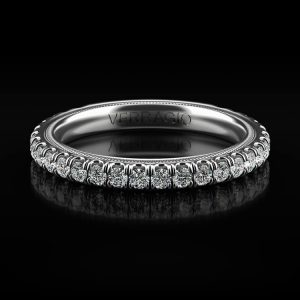 Verragio TR180W Tradition 14k White Gold 0.61ctw Diamond Laddies Wedding Band