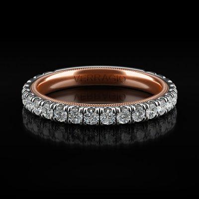Verragio TR210W Tradition 14k Two Tone 0.84ctw Diamond Ladies Wedding Band