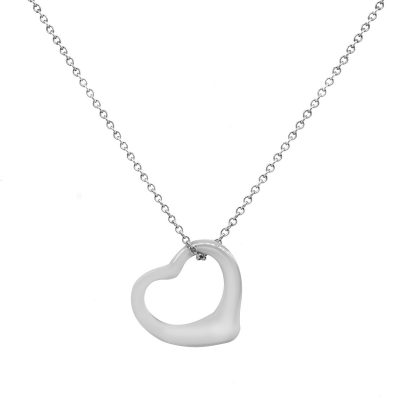 Tiffany & Co. Open Heart Necklace