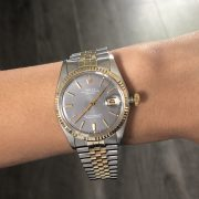 Rolex 1601 Two Tone Datejust Non Quick Watch