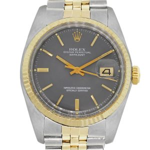 Rolex 1601 two tone datejust