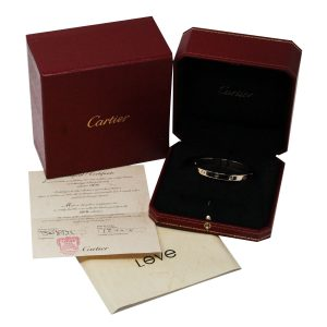 Cariter Rose Gold Love Bracelet