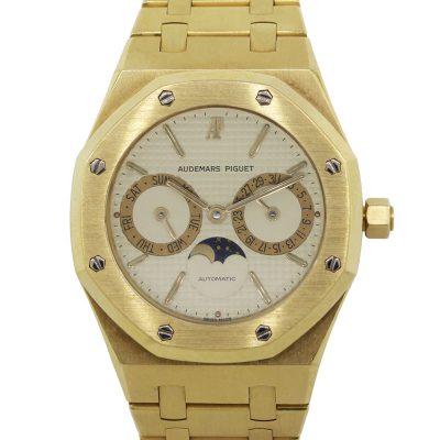 Audemars Piguet 25594BA Royal Oak Day Date Moonphase Calendar 18k Yellow Gold Watch