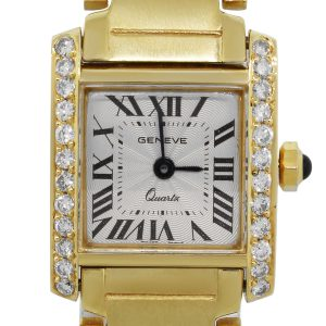 18k Yellow Gold Geneve Watch