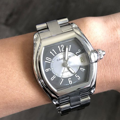 Cartier 2510 Roadster Stainless Steel Watch