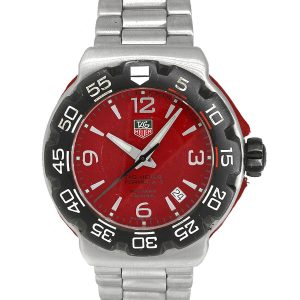 Tag Heuer WAC1113-0 Formula One Red Dial Mens Watch