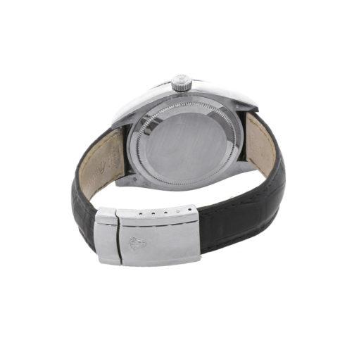 Rolex 326139 Sky-Dweller 18k White Gold Black Dial Watch